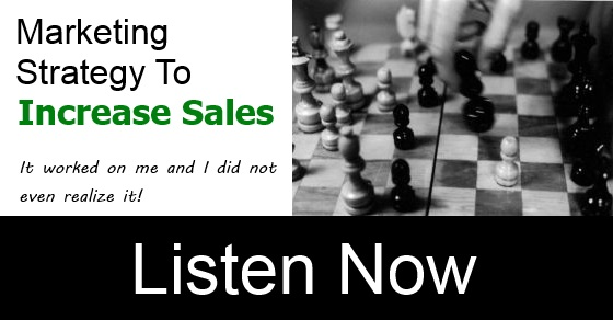 One Marketing Strategy To Increase Sales