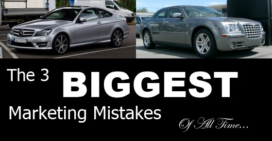 3 Biggest Marketing Mistakes