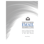 guide to starting email marketing cover final